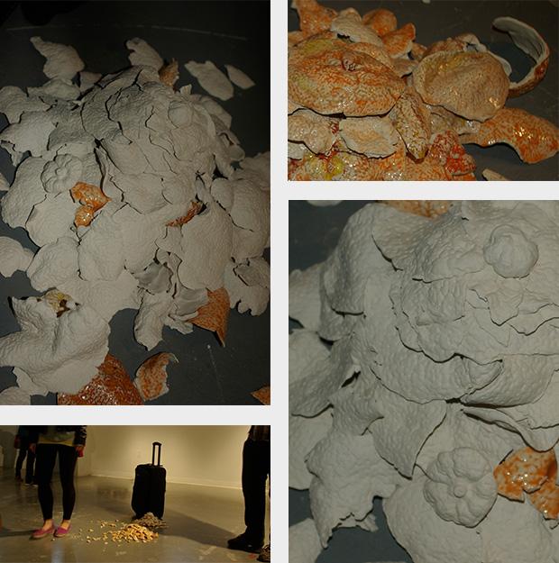 Kunst im Koffer, New Jersey, Porzellan